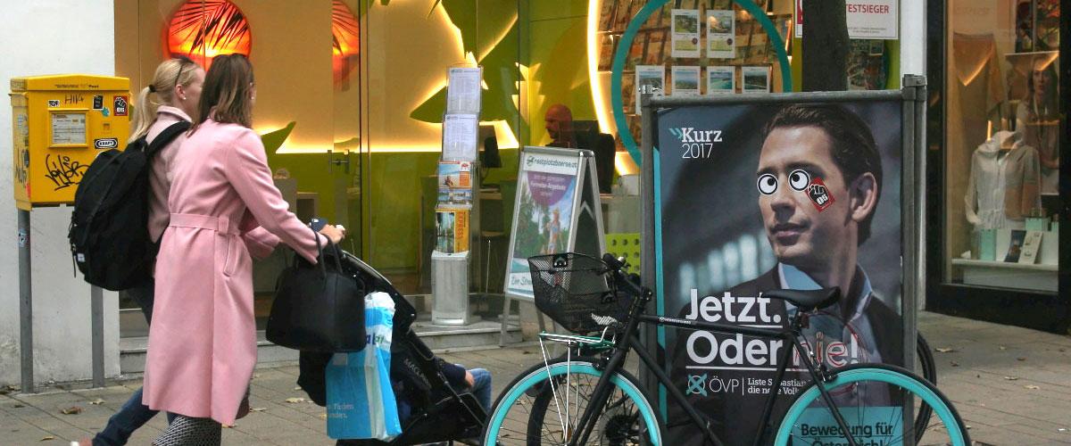 Wahlplakat Sebastian Kurz Beitragsbild