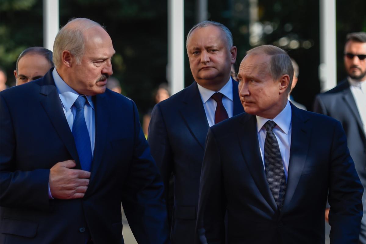 Putin und Lukaschenka: Über den Energiestreit zwischen Belarus und Russland berichtet für LibMod Artyom Shraibmann aus Minsk