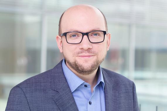 Portrait von Manuel Sarrazin