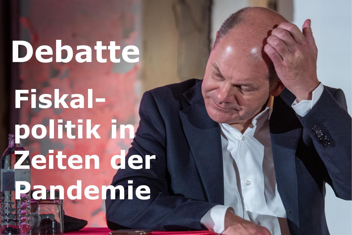 """Finanzminister Olaf Scholz will mit einer """"Bazooka"""" die Wirtschaft stützen. Doch Thieß Petersen (Bertelsmann-Stiftung) warnt: die Coronakrise ist anders."""